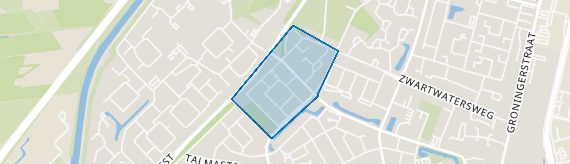 Luchiesland Noord, Assen map