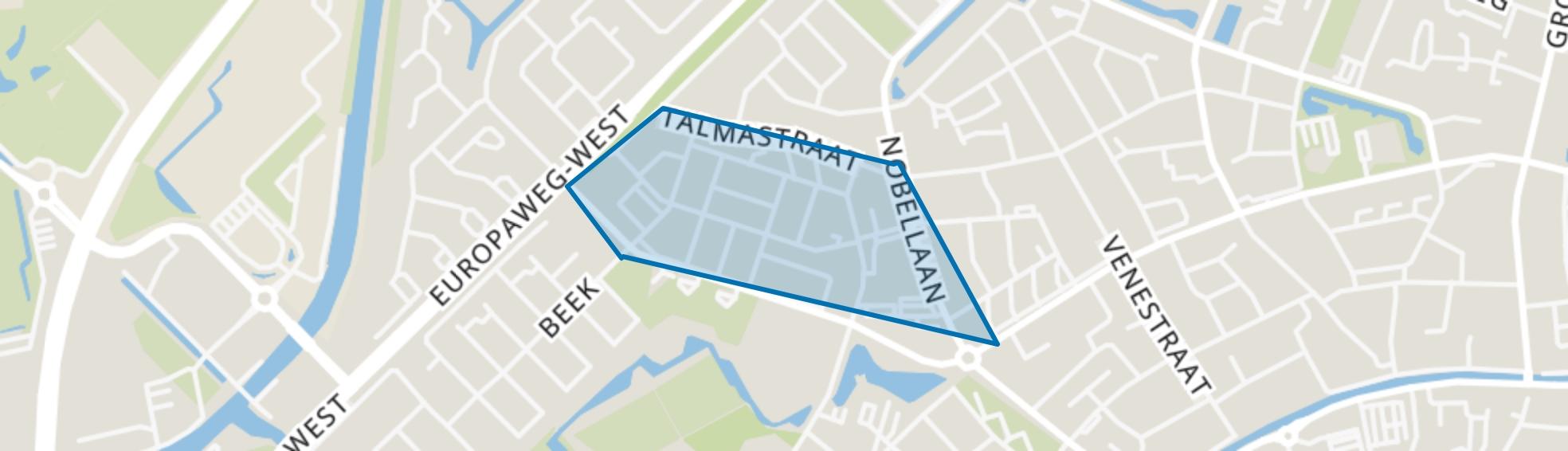 Luchiesland Zuid, Assen map
