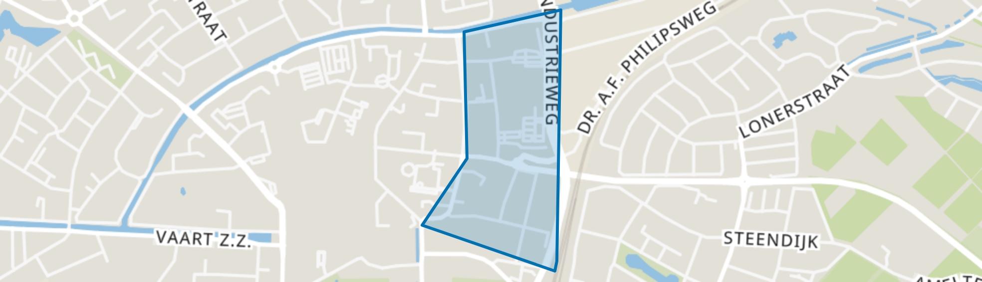 Oranjebuurt, Assen map