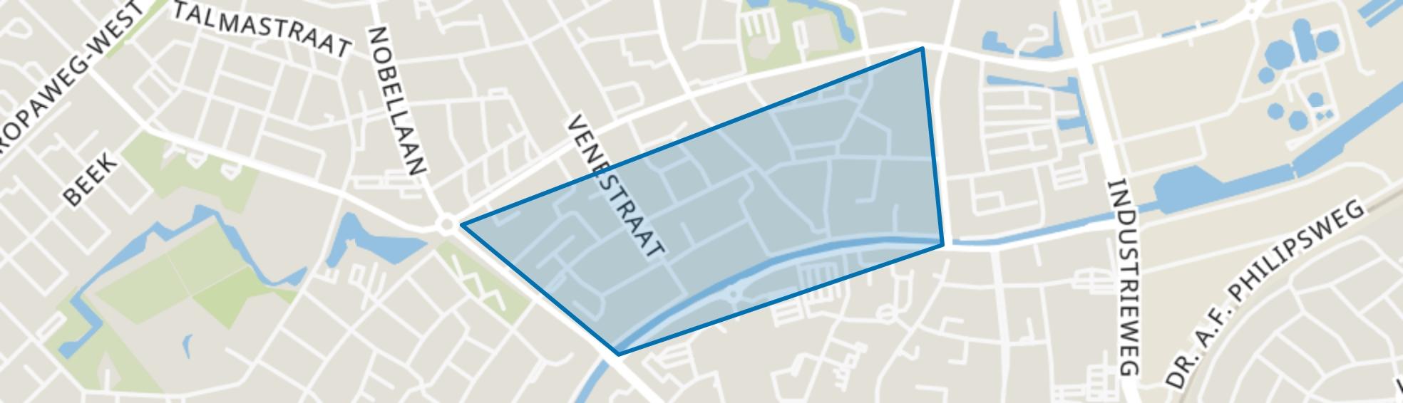 Oude Molenbuurt, Assen map