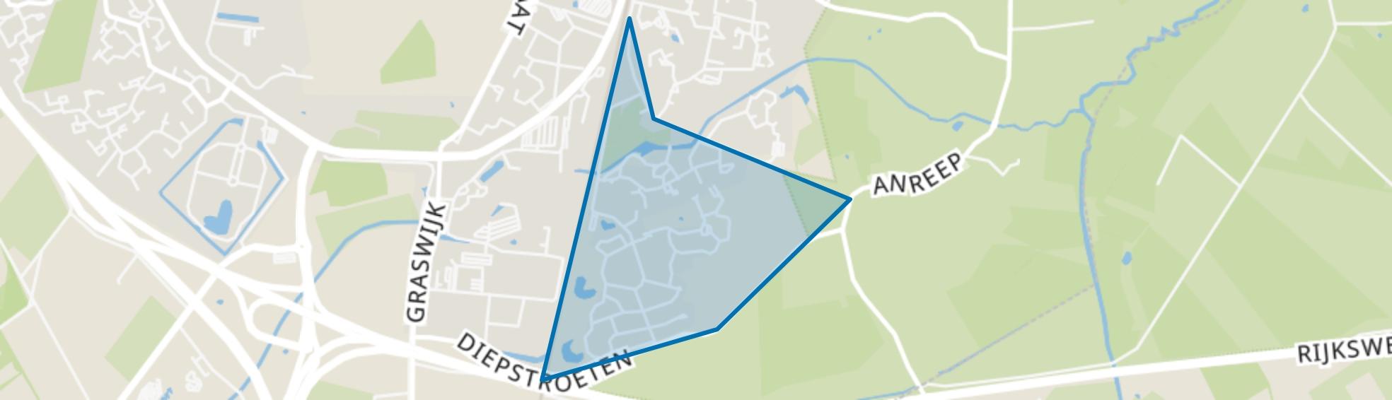 Park Diepstroeten, Assen map