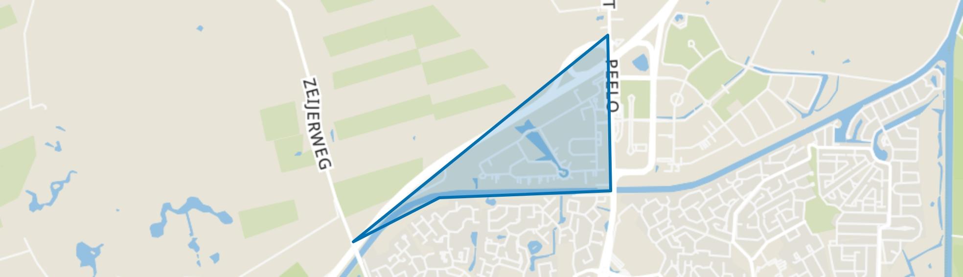 Peelerpark, Assen map