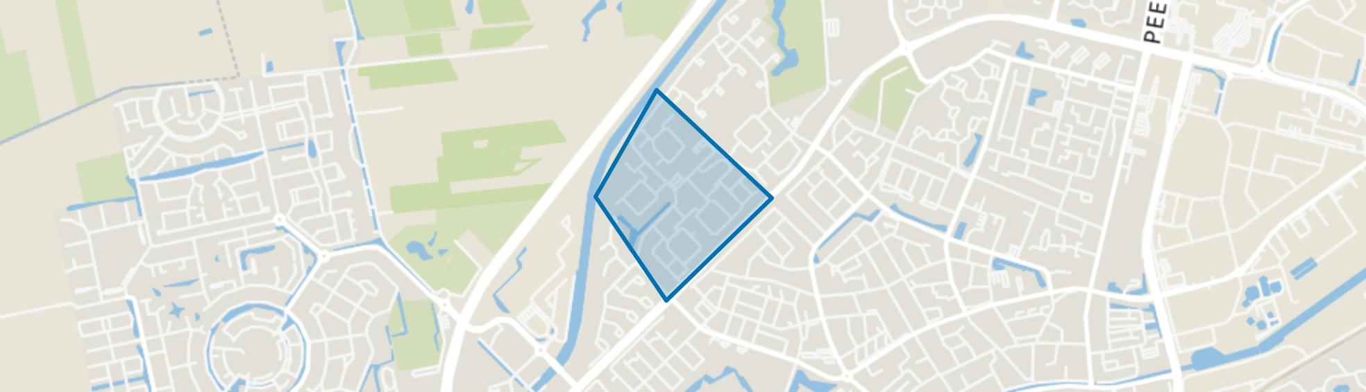 Pittelo Midden, Assen map