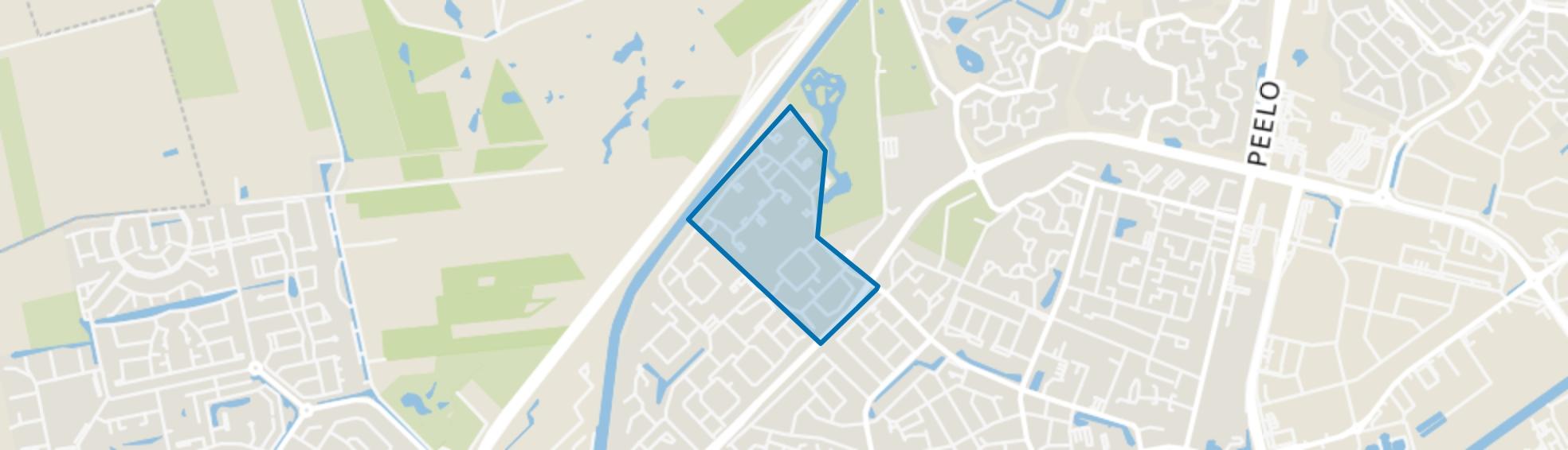 Pittelo Noord, Assen map