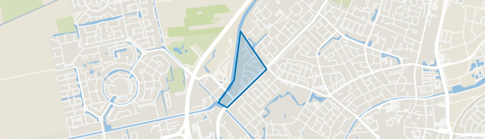 Pittelo Zuid, Assen map