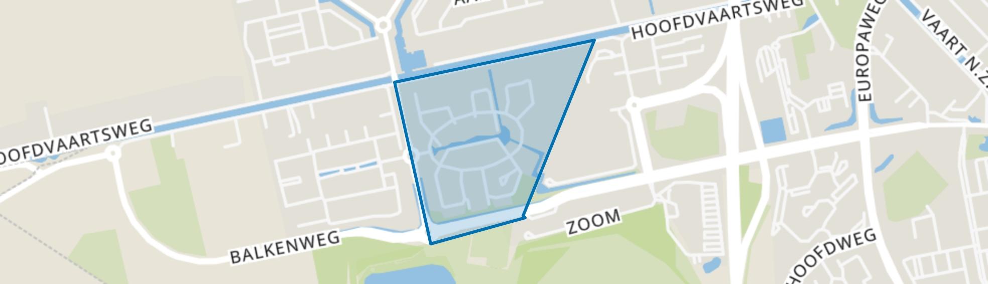 Planetenbuurt, Assen map