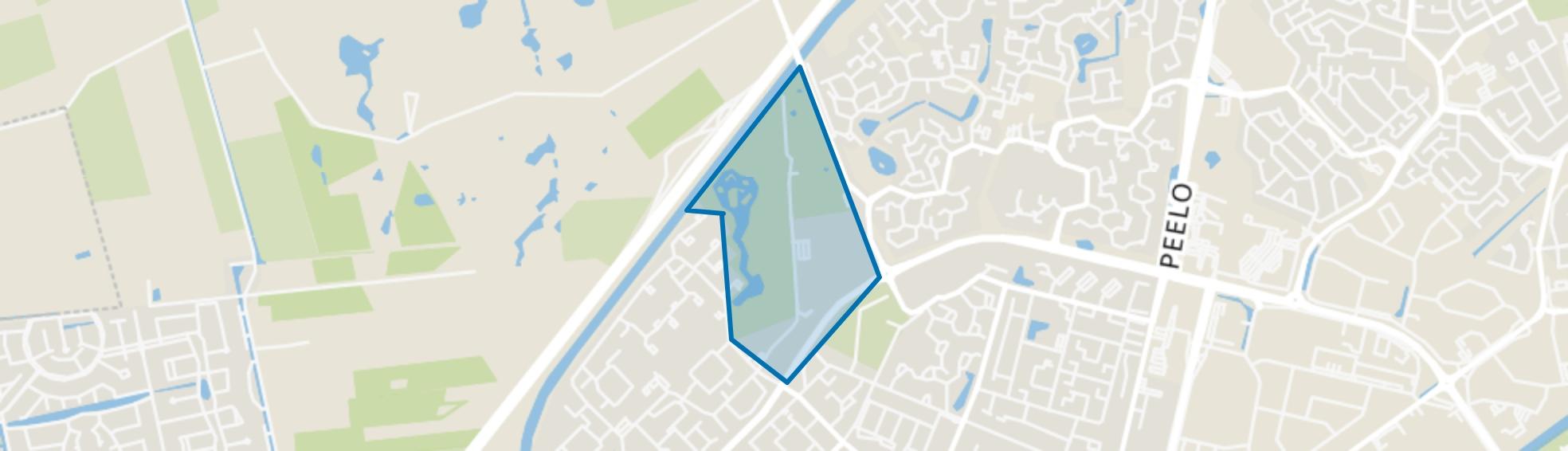 Recreatiepark Pittelo, Assen map