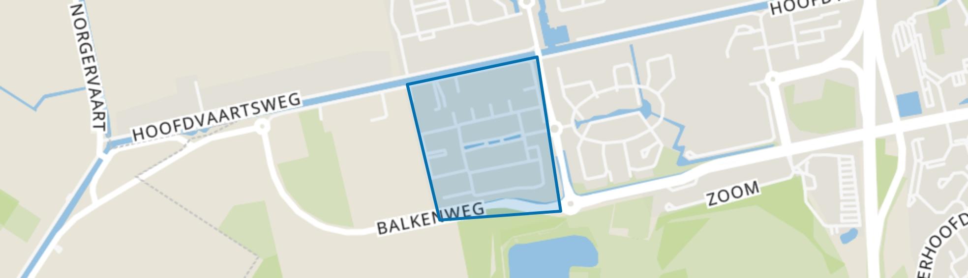 Sterrenbeeldenbuurt, Assen map