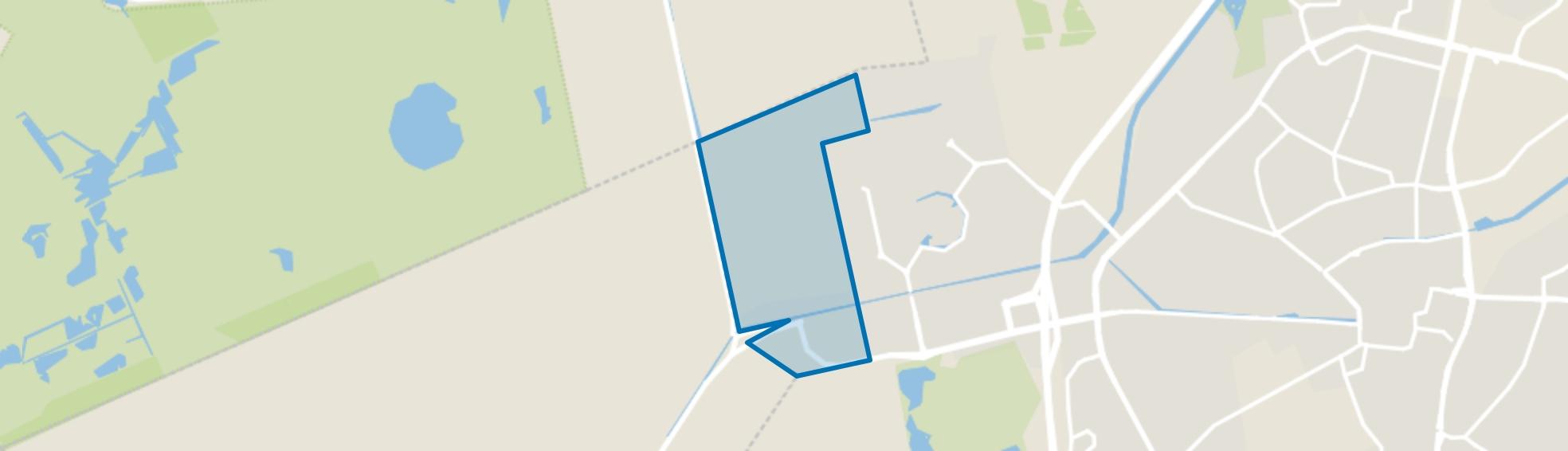 Uitbreidingsgebied Kloosterveen, Assen map