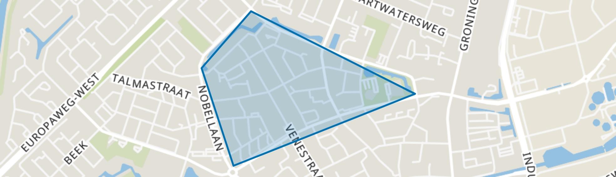 Veningerland, Assen map