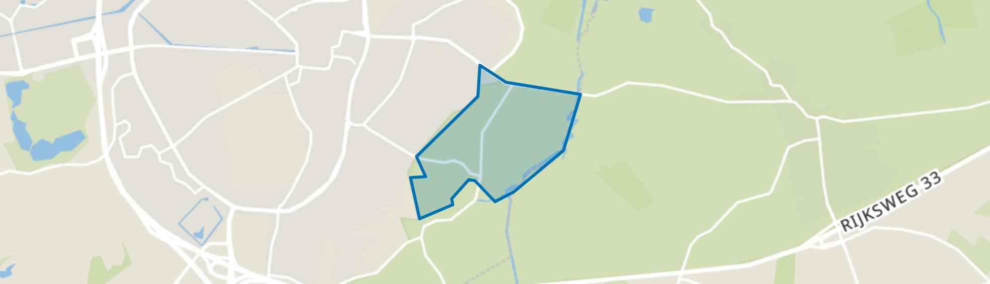 Verspreide huizen Schieven, Assen map