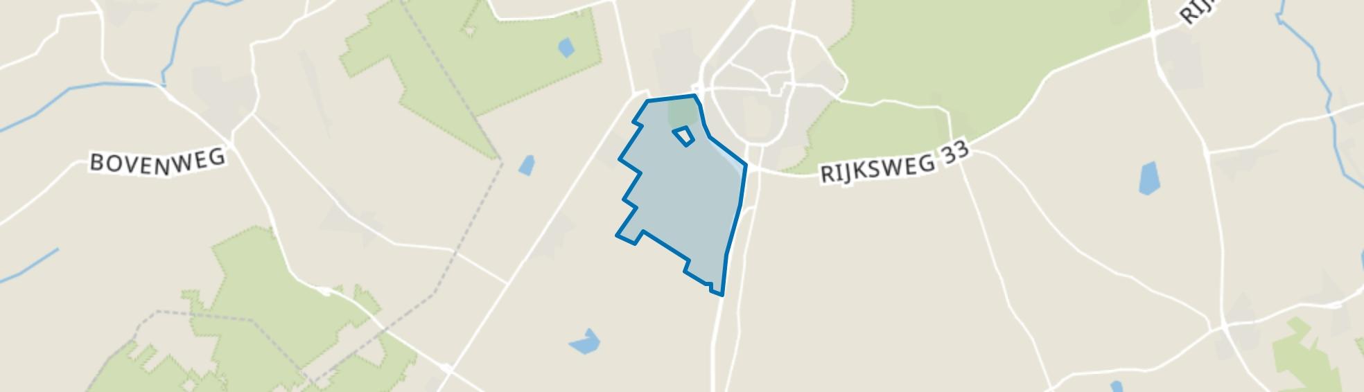 Verspreide huizen Witten, Assen map