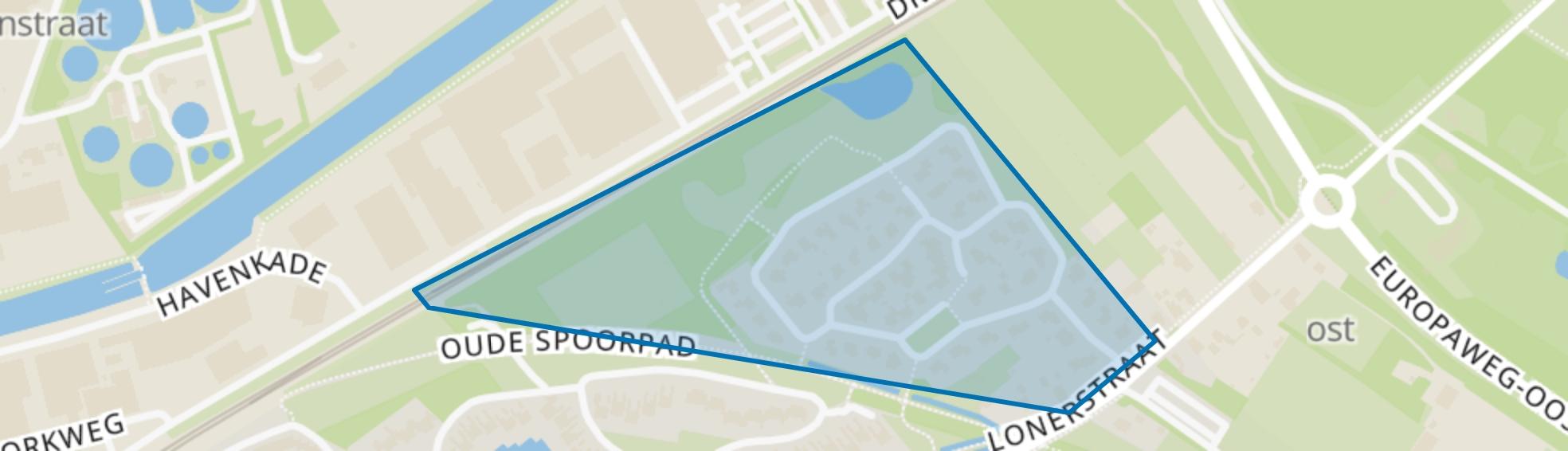 Vreebergen, Assen map