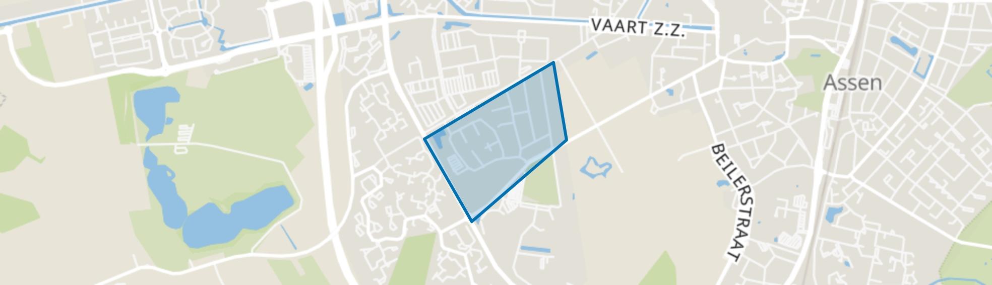 Westerpark, Assen map