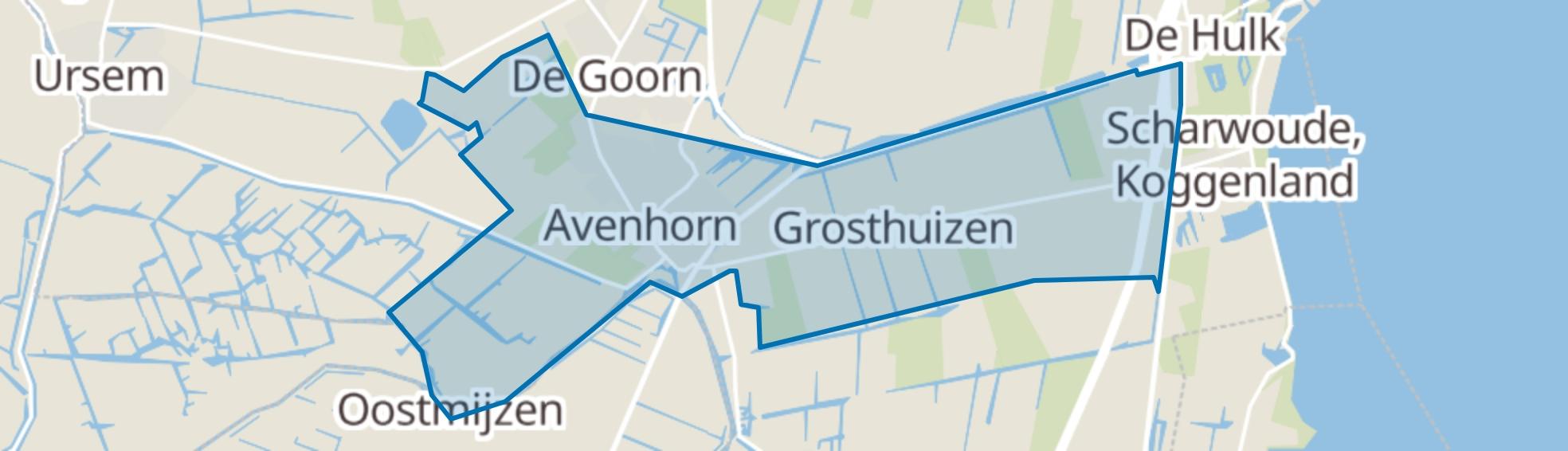 Avenhorn map