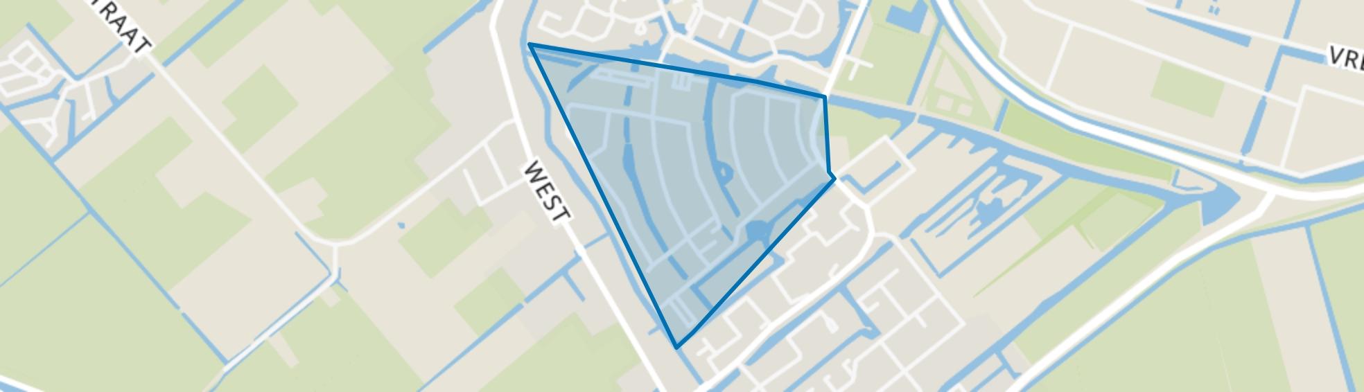 Alver en omgeving, Avenhorn map