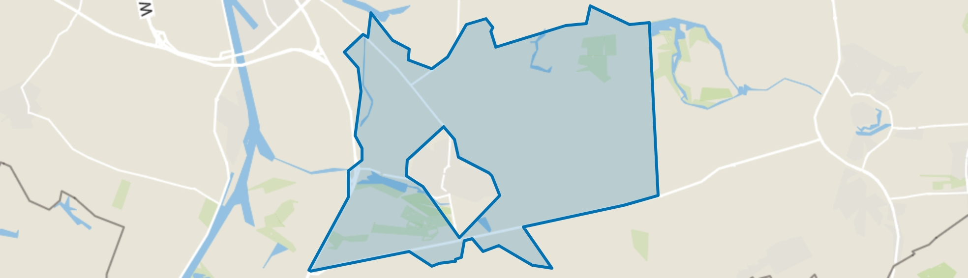 Buitengebied Axel, Axel map