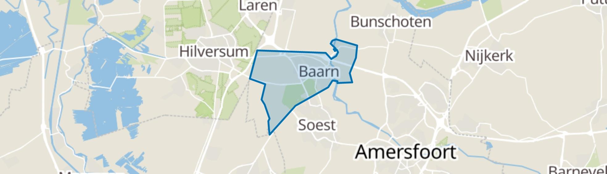 Baarn map