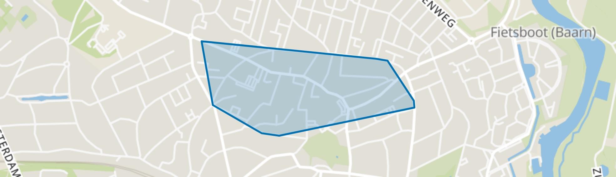 Centrum, Baarn map