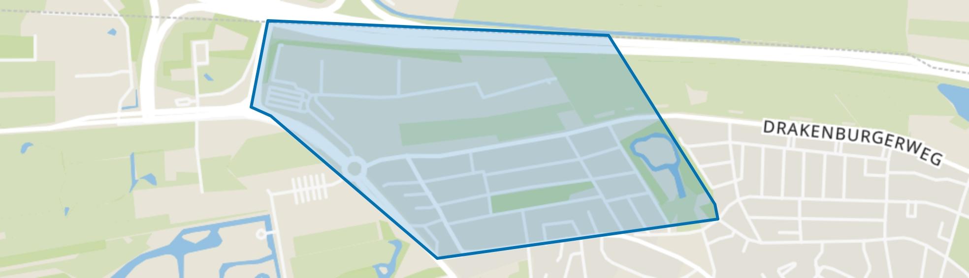 Componistenwijk, Baarn map