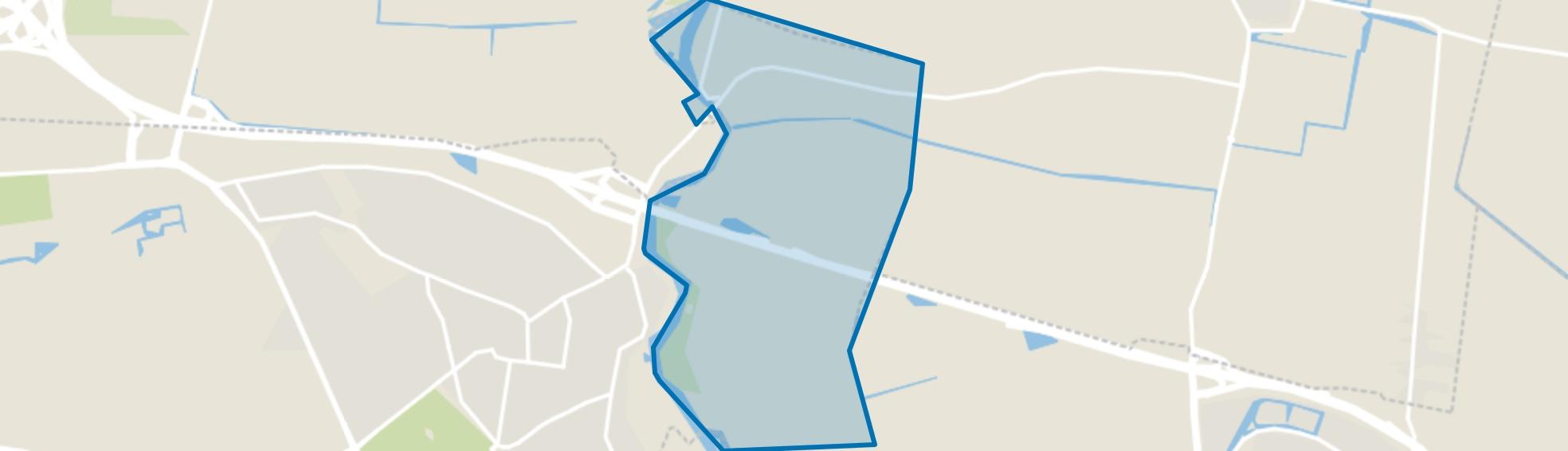 Eemland waaronder Eembrugge, Baarn map