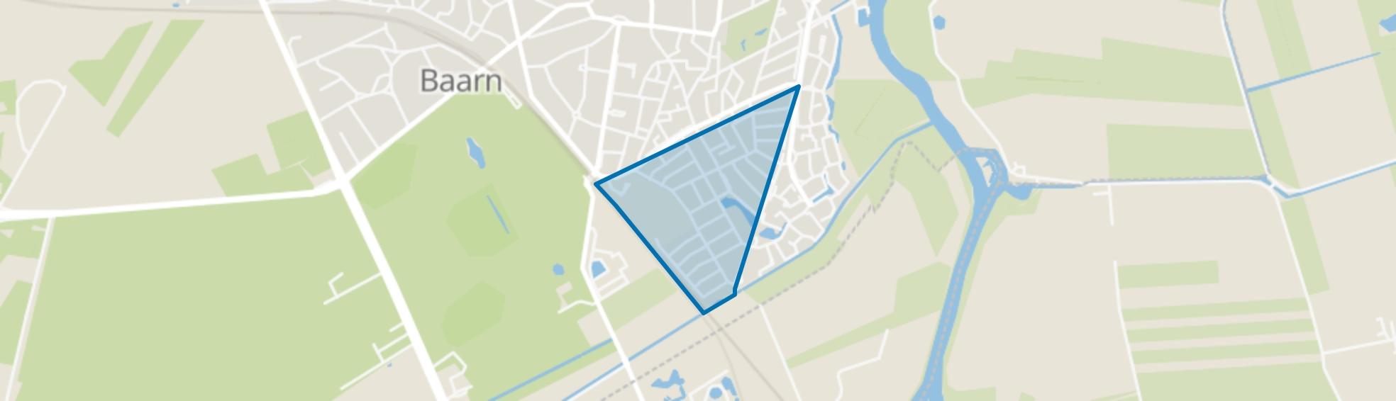 Nieuwe-Oosterhei, Baarn map