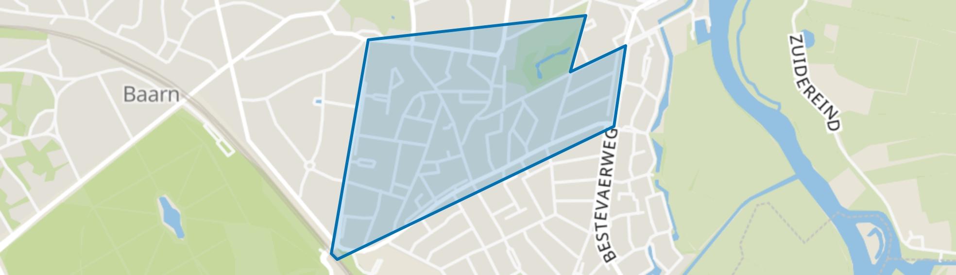 Oude-Oosterhei, Baarn map