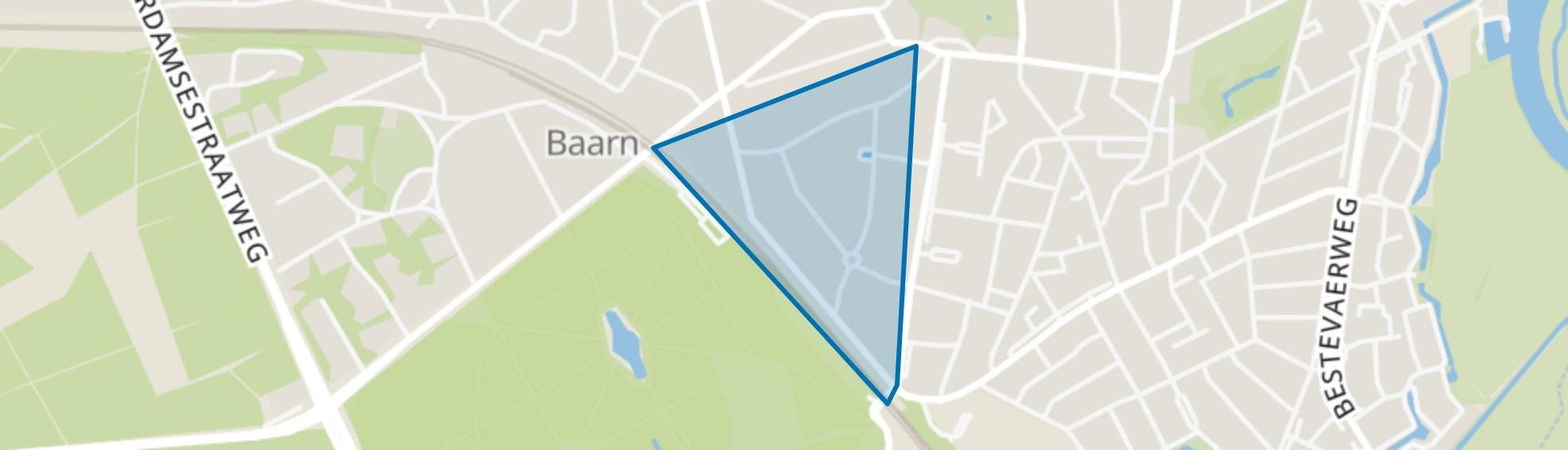 Pekingpark, Baarn map