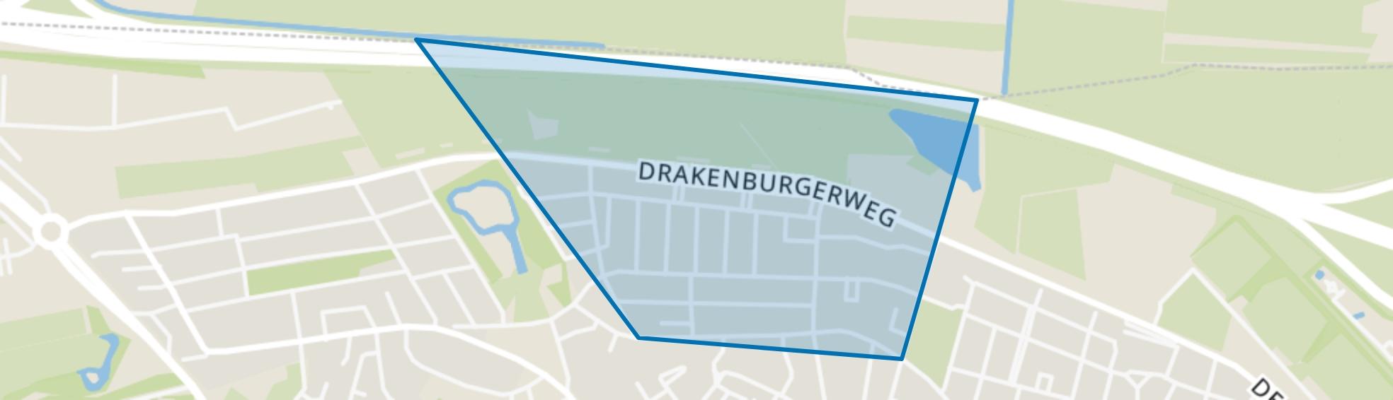 Professorenwijk, Baarn map