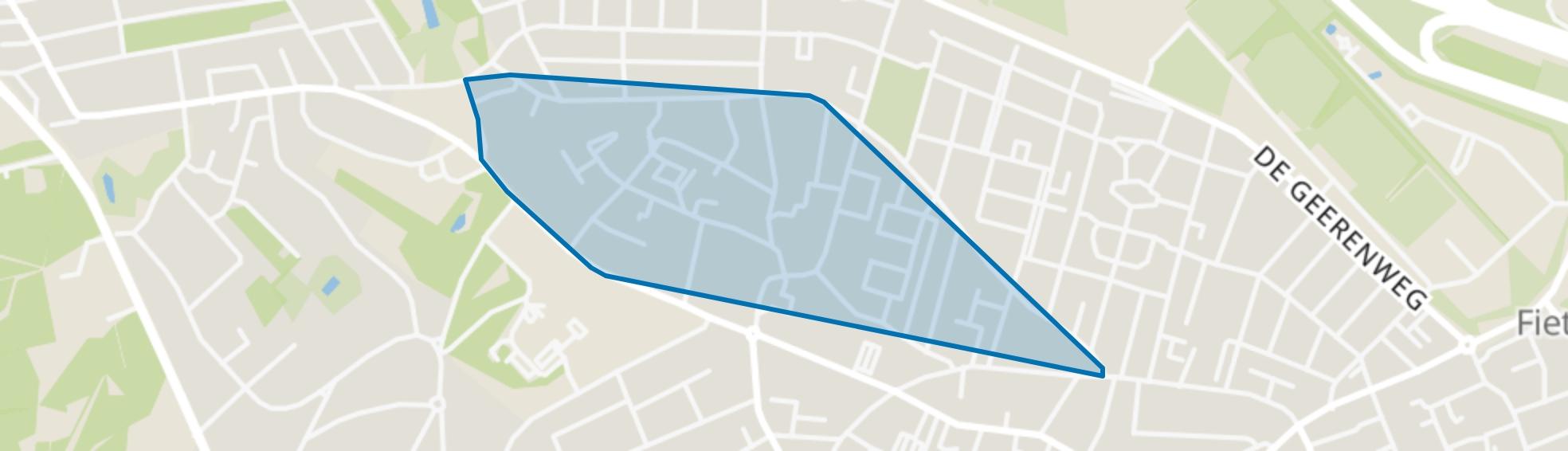 Zandvoort, Baarn map