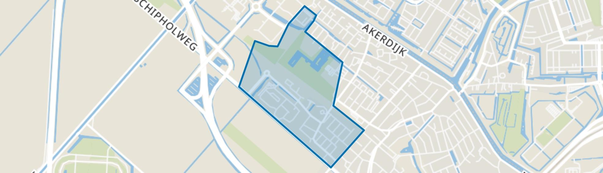 Badhoevedorp Bouwlust, Badhoevedorp map