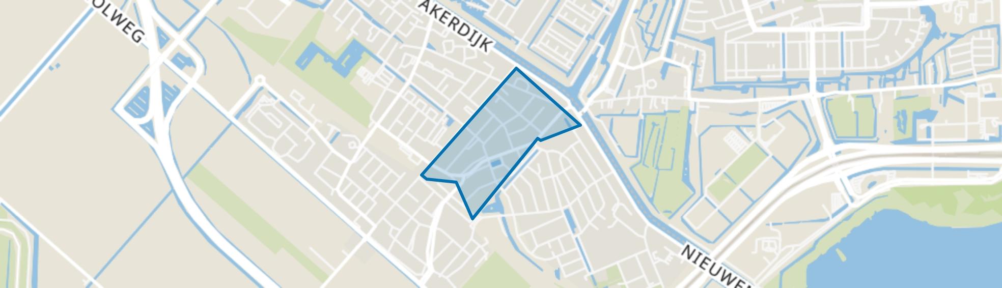 Badhoevedorp Centrum, Badhoevedorp map