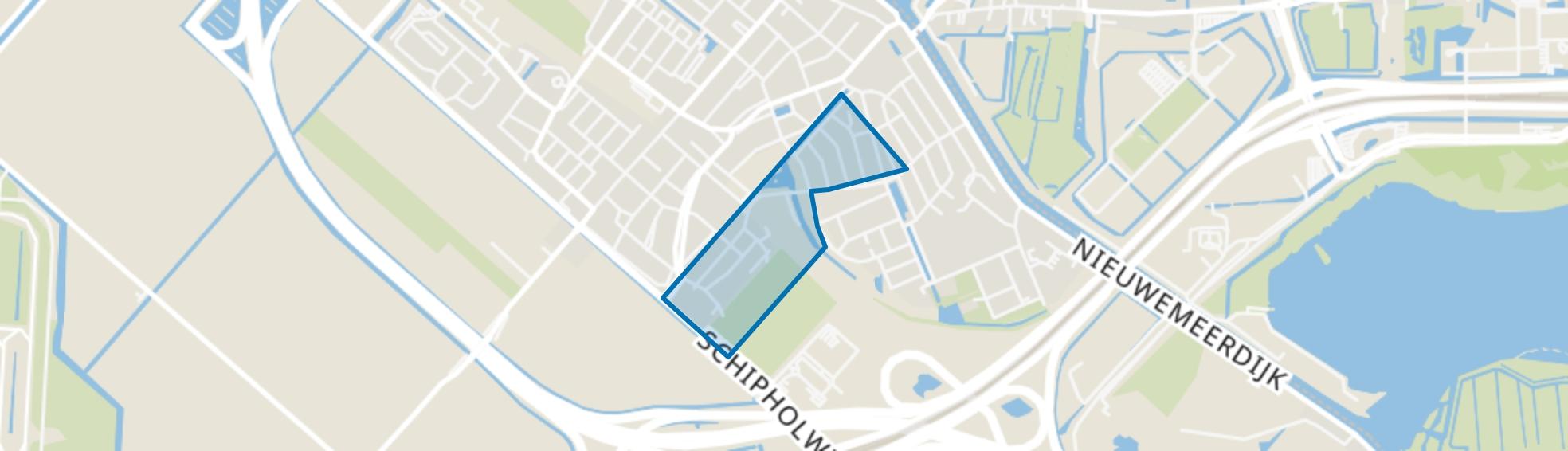 Badhoevedorp Oost, Badhoevedorp map