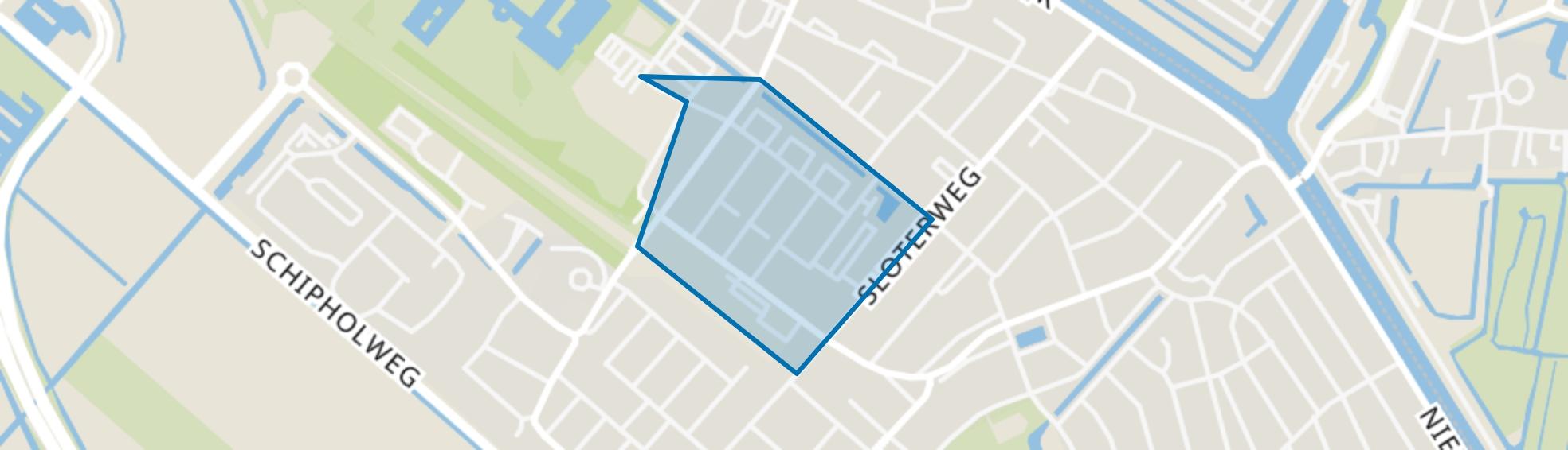 Badhoevedorp West, Badhoevedorp map