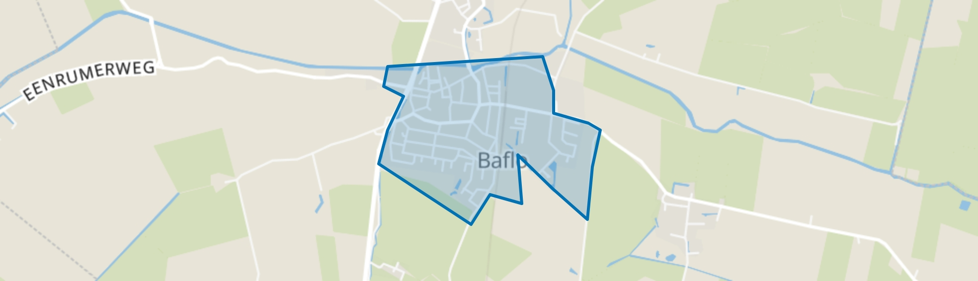 Baflo, Baflo map