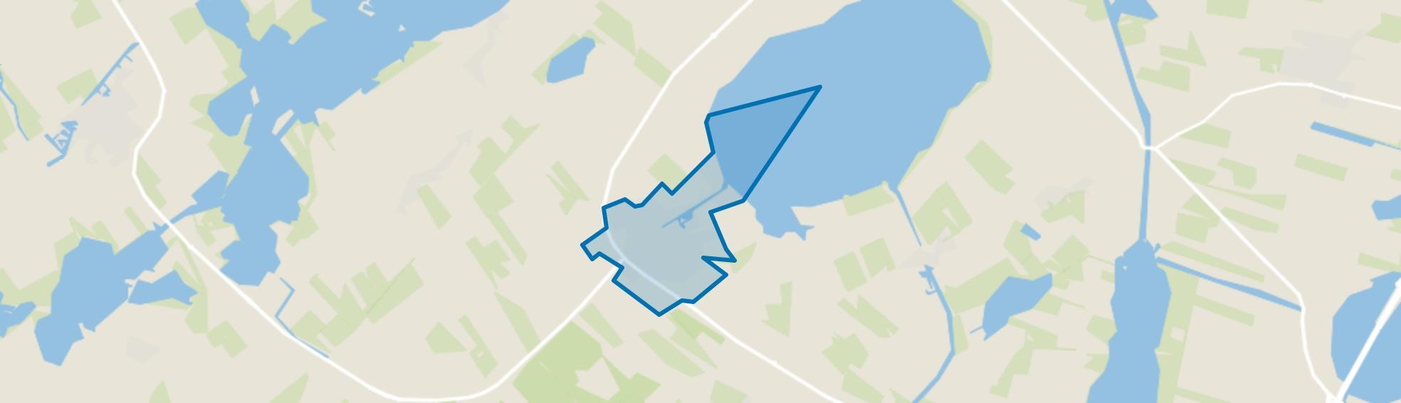 Balk, Balk map