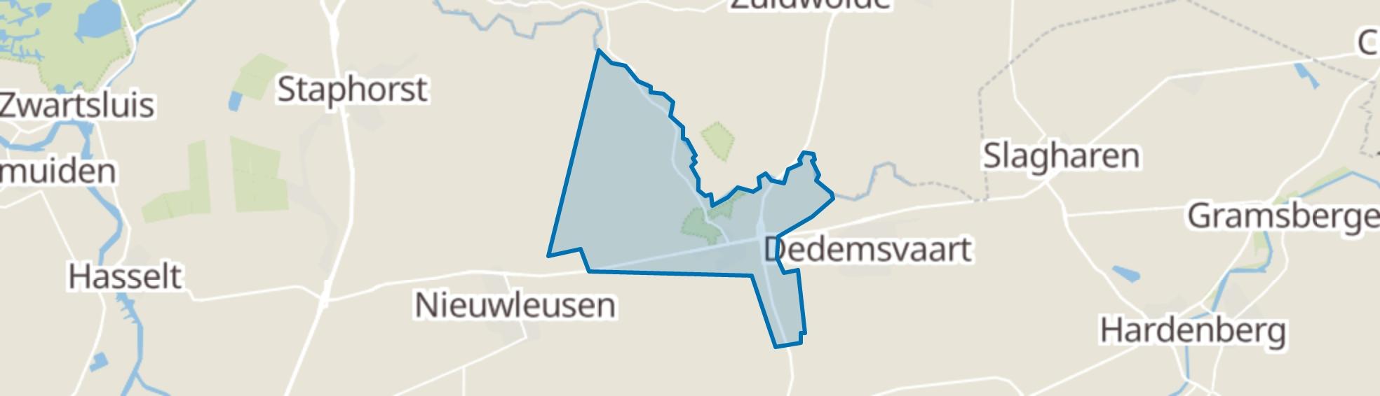 Balkbrug map