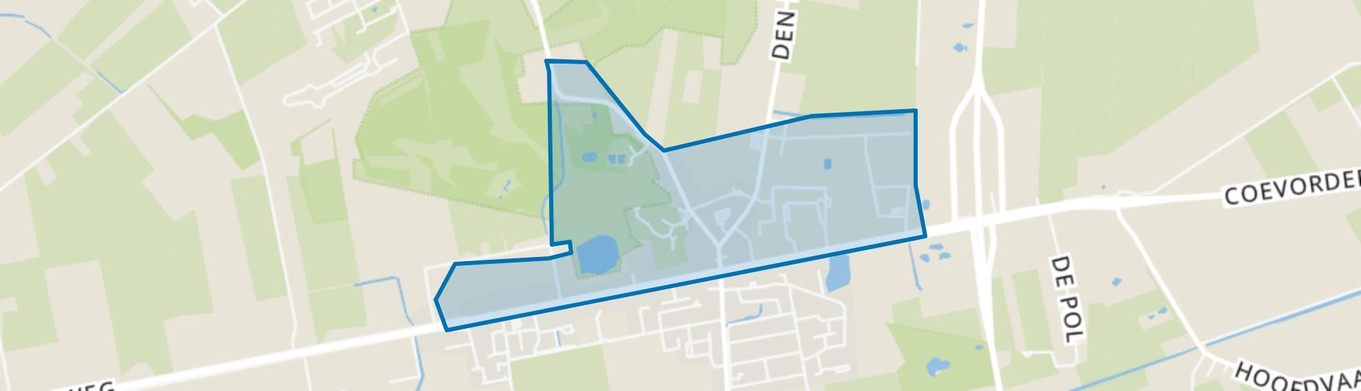 Balkbrug-Noord, Balkbrug map