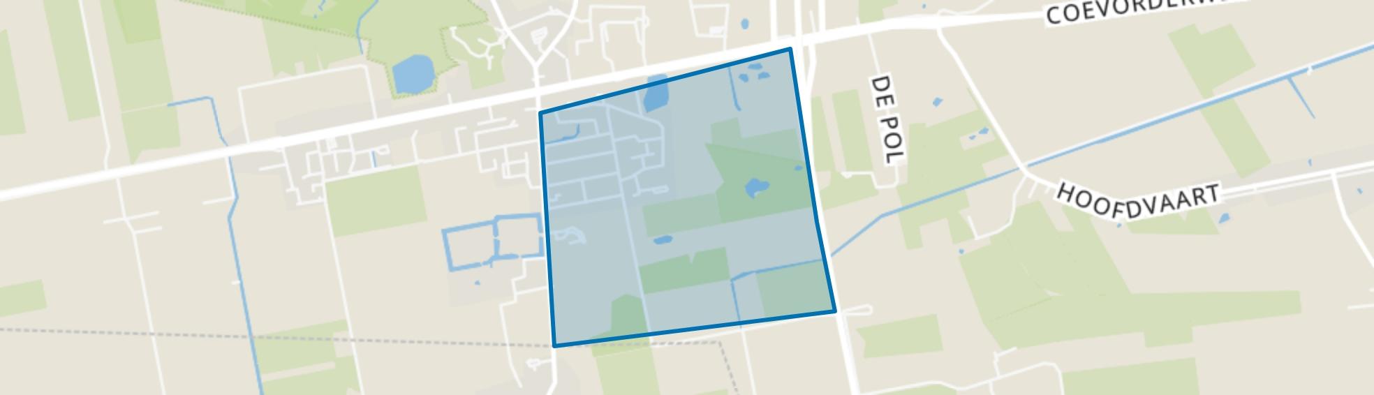 Balkbrug-Zuidoost, Balkbrug map