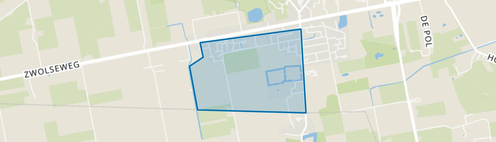 Balkbrug-Zuidwest, Balkbrug map