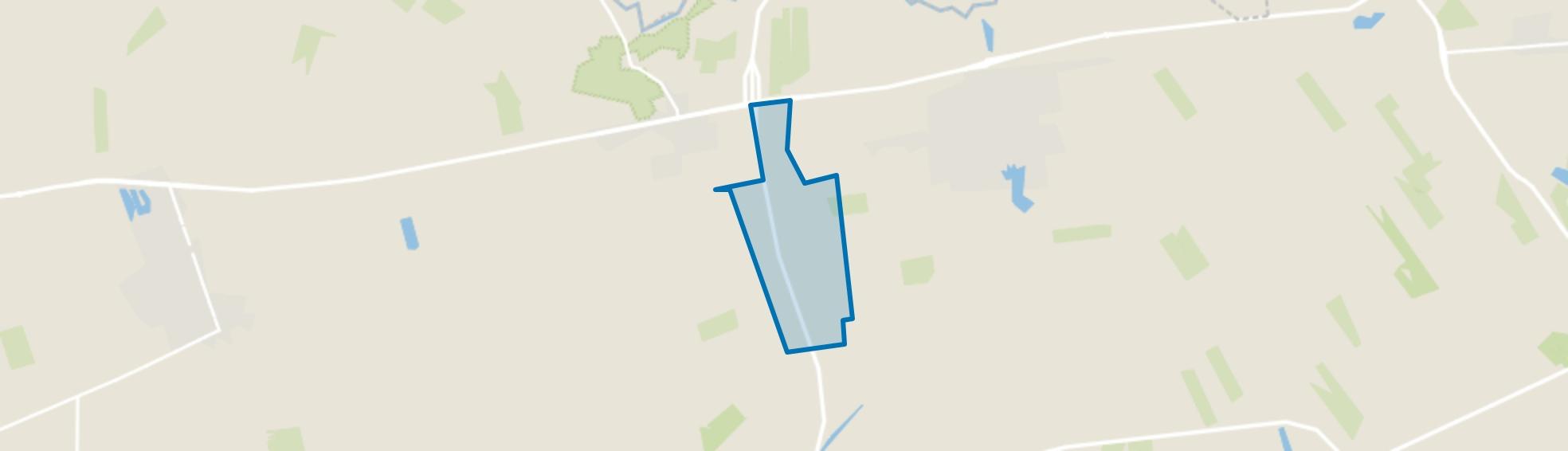 Verspreide huizen De Kolonie, Balkbrug map