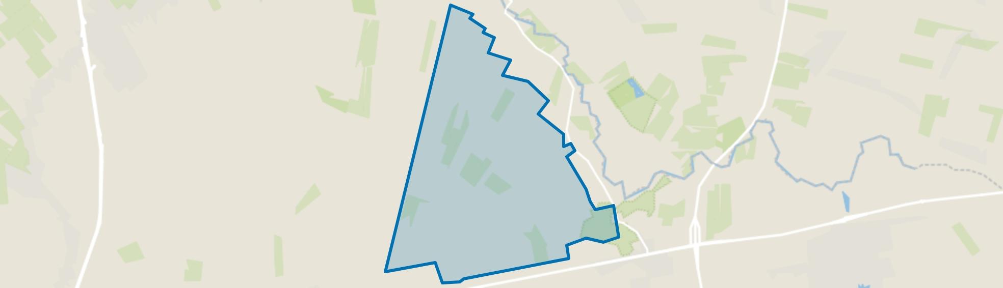 Verspreide huizen Westerhuizingerveld, Balkbrug map