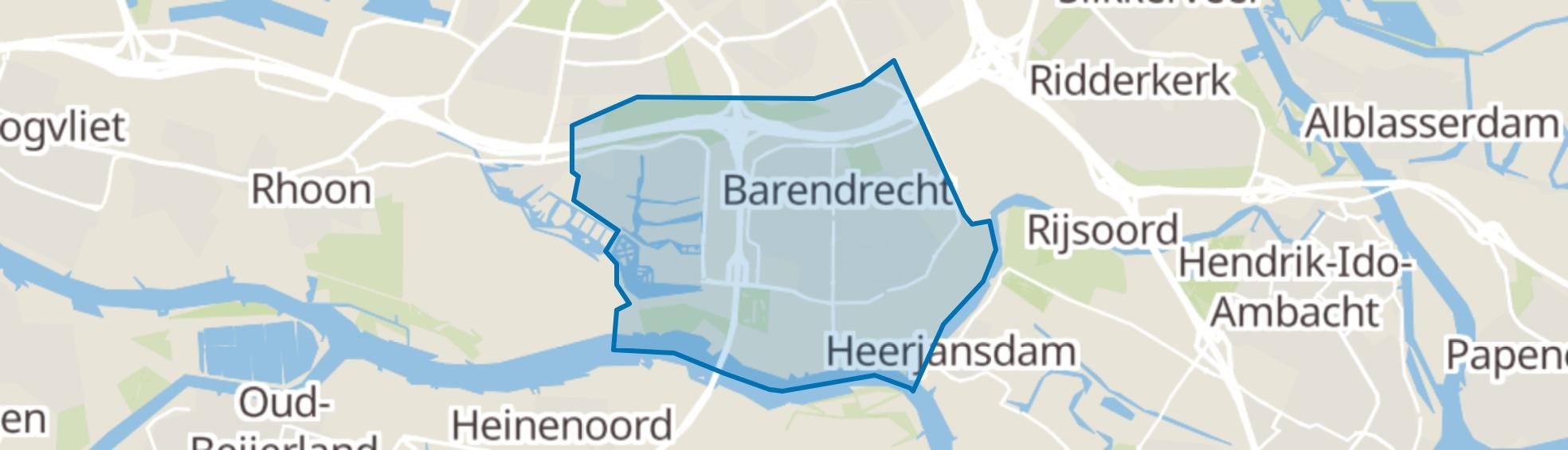 Barendrecht map