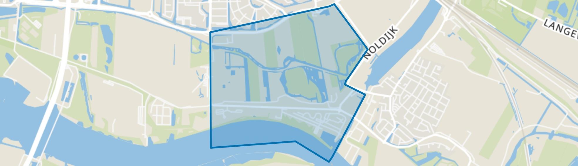Achterzeedijk Oost, Barendrecht map