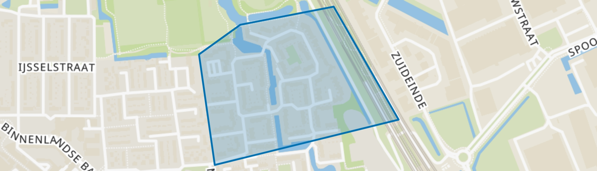 Binnenland, Barendrecht map
