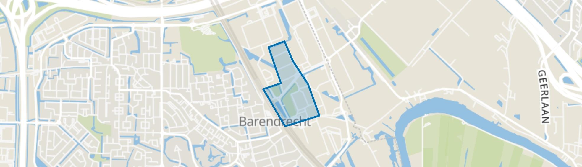BT Handelscentrum, Barendrecht map