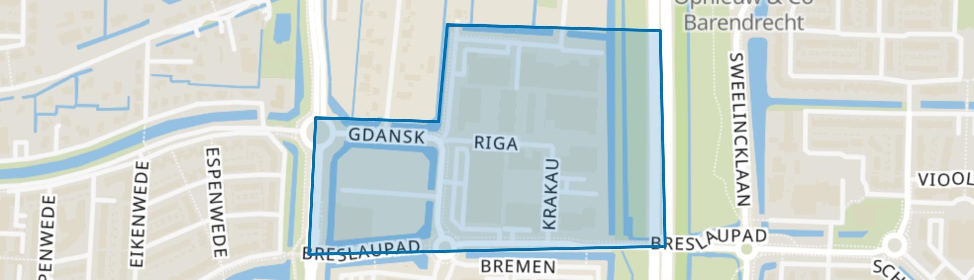 BT Vaanpark 3, Barendrecht map