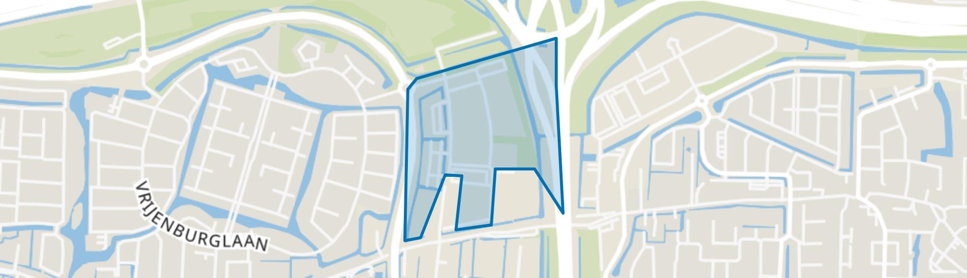 BT Vaanpark 4, Barendrecht map