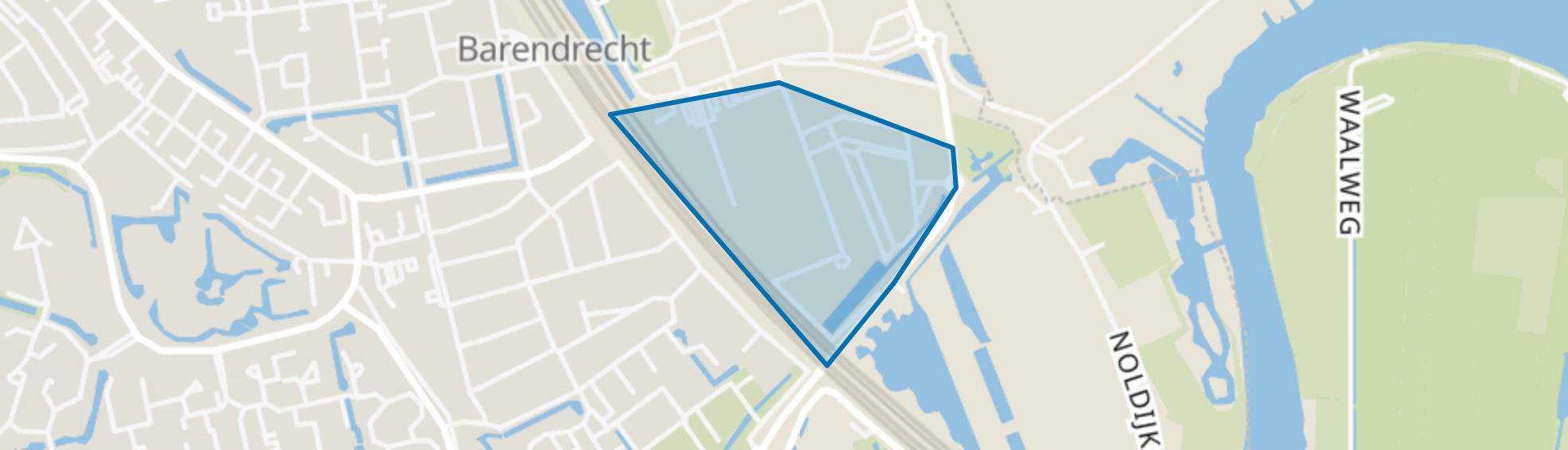 BT Ziedewij, Barendrecht map