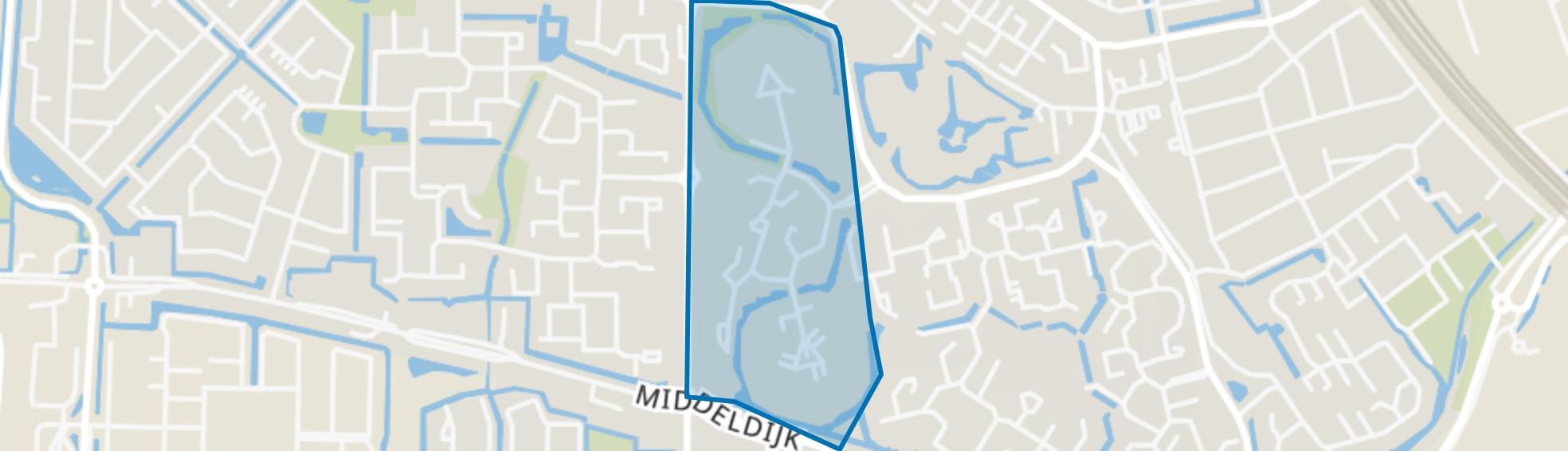 Buitenoord 1, Barendrecht map